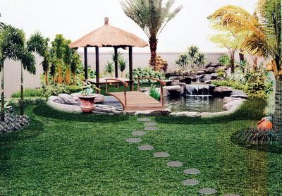 syljan beberapa interior taman halaman rumah pic