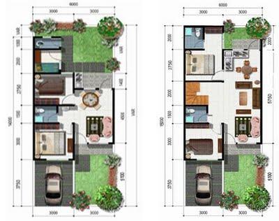 Arsitektur Rumah on Pengembangan Denah Rumah Tipe 36